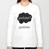 youtube Long Sleeve T-shirts featuring YouTube? by samonstage_lyrics