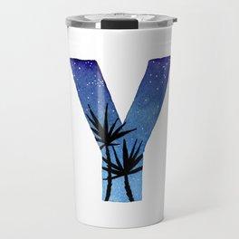 Galaxy Alphabet Series: Y Travel Mug