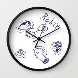 Just Relax... Wall Clock