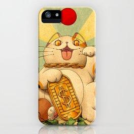 Cash Money iPhone Case