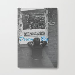 Big Little Dreamer Metal Print