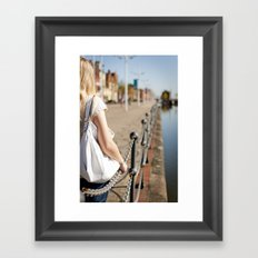 Hull port Framed Art Print