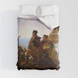 "Emanuel Gottlieb Leutze ""Washington Crossing the Delaware"" Comforters"