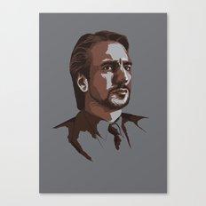 Villains: Hans Gruber Canvas Print