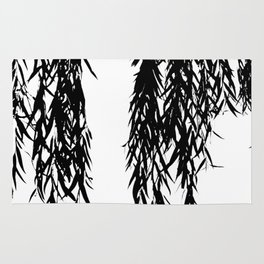 willow bw Rug