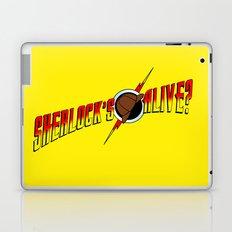 Sherlock's Alive? Laptop & iPad Skin