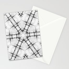 La Tour Eiffel Kaleidoscope Photographic Pattern Stationery Cards