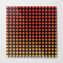 Lil Hottie Red/Orange Metal Print