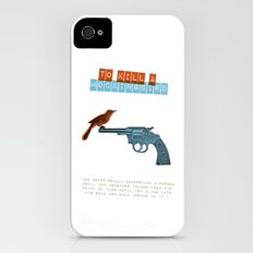 To Kill a mocking bird iPhone (4, 4s) Slim Case