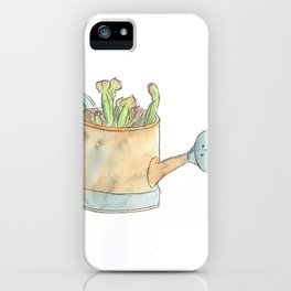 Little Orange Watering Can  iPhone Case
