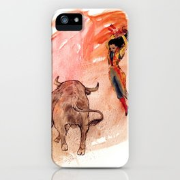 Bullfighter iPhone Case