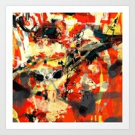 Abstract 6/100 Art Print