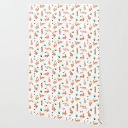 Bunny Pattern Wallpaper
