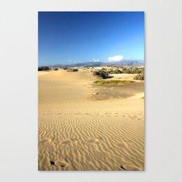 The Desert 1.0 Canvas Print