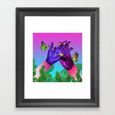 LADY BUG CLUB Framed Art Print