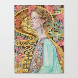 Flower in a Bitter World III Canvas Print