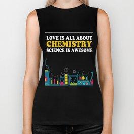 Gift For Chemistry Lover. Tee From Kids. Biker Tank