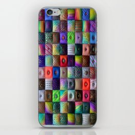 Patchwork of Joy iPhone Skin