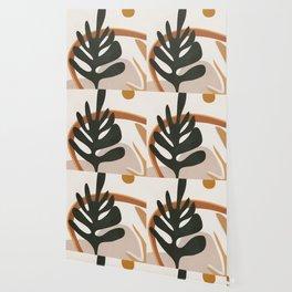 Abstract Plant Life I Wallpaper