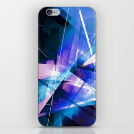 Prizism - Geometric Abstract Art iPhone Skin