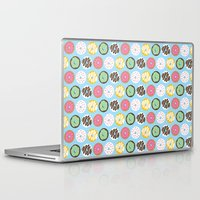donuts Laptop & iPad Skins featuring Donuts by Nicola D'Andrea