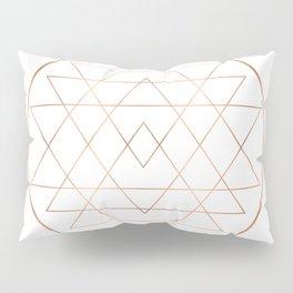 Dream All, All Dream - Rose Gold Copper Pillow Sham