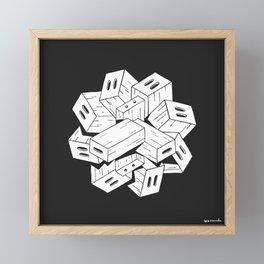 Apple Box Orgy Framed Mini Art Print