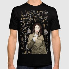 Regina Spektor Black Mens Fitted Tee MEDIUM