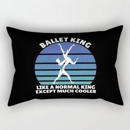 Ballet king Rectangular Pillow
