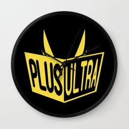 All Might Plus Ultra Wall Clock