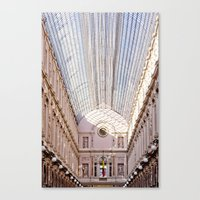brussels Canvas Prints featuring brussels by Beau Colin
