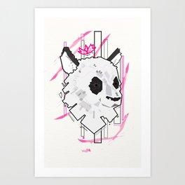 Queen Panda Art Print
