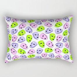 Masks II Rectangular Pillow