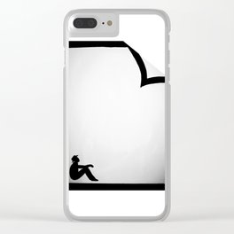 In the Fold Clear iPhone Case