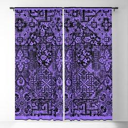 celtic knot purple Blackout Curtain