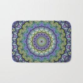 Purple n' Green Machine - Mandala Art Bath Mat