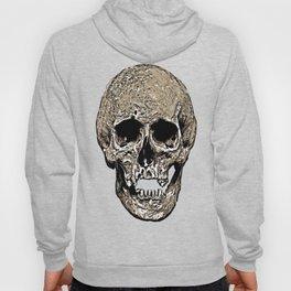 Full Skull With Rotting Flesh Vector Hoody