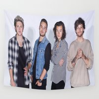 1d Wall Tapestries featuring New 1D by kikabarros