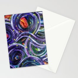 """""""Moving Lights"""" Stationery Cards"""