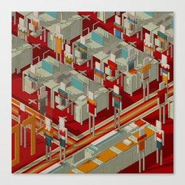 Habitat 29 Canvas Print