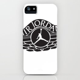 jumpman wings iPhone Case