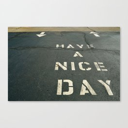Nice Day Canvas Print