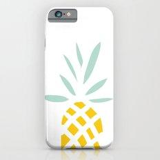 Pineapple pattern iPhone 6s Slim Case
