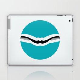 Chic moustache Laptop & iPad Skin