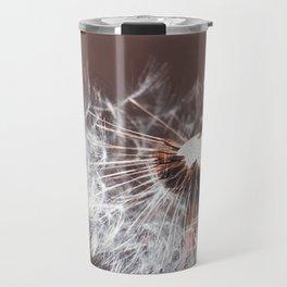 Dandelion Flower Travel Mug