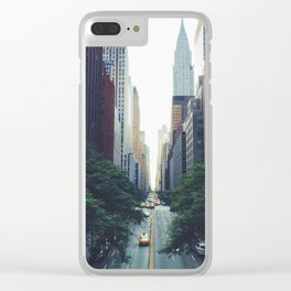 Morning in the Empire Clear iPhone Case