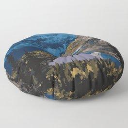 Mt. Assiniboine Provincial Park Floor Pillow