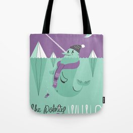 The Pointy Faced Whale Tote Bag
