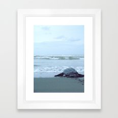The Commute  Framed Art Print