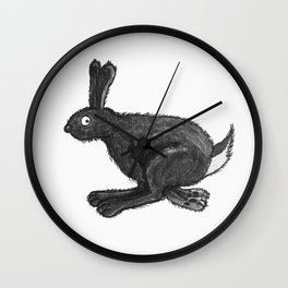 Hare Don't Care Wall Clock